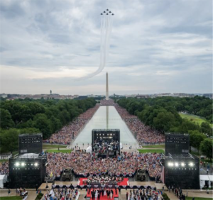 Independence Day crowd 2019