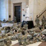 数千人の州兵たちは3月末までワシントンDCに駐留を続ける予定