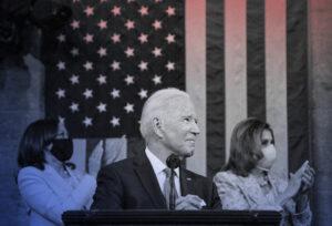 ジョー・バイデン氏の初の議会演説は「アメリカに対する宣戦布告」——ライブ放送の視聴者数はトランプ大統領の初回一般教書演説の4分の1以下